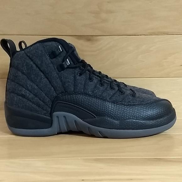cc0a61c5f6c19b Nike Air Jordan 12 Retro Wool 4.5 Youth 852626-003